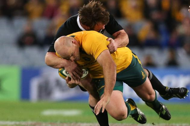 Bledisloe Cup 2013 Results: Game 1 Score and Recap for Australia vs. New Zealand
