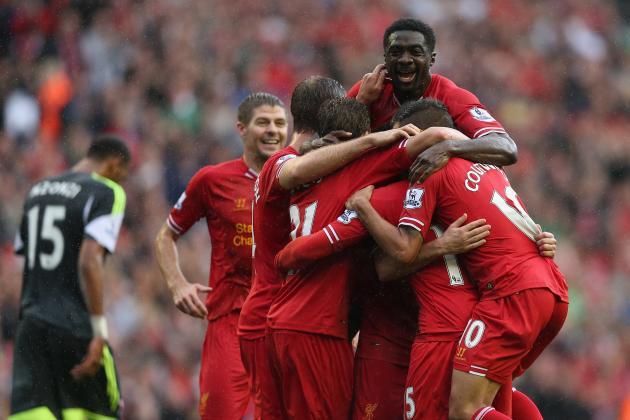 Liverpool vs. Stoke City: Premier League Live Score, Highlights, Recap
