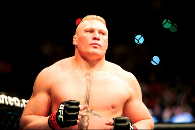 Brock Lesnar: 'There's Days I Think I Could Get Back in the Octagon'