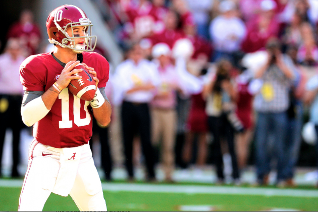 Alabama Football: Projecting Stats for Crimson Tide's Biggest Playmakers in 2013