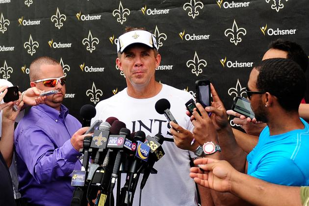 Payton Frustrated by Second-Team Offense