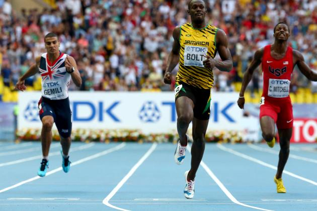 Usain Bolt Wins 200m at World Athletics Championship to Complete Sprint Double