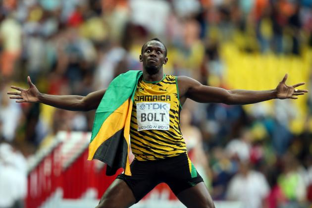 Bolt Coasts to 200m Gold in Moscow