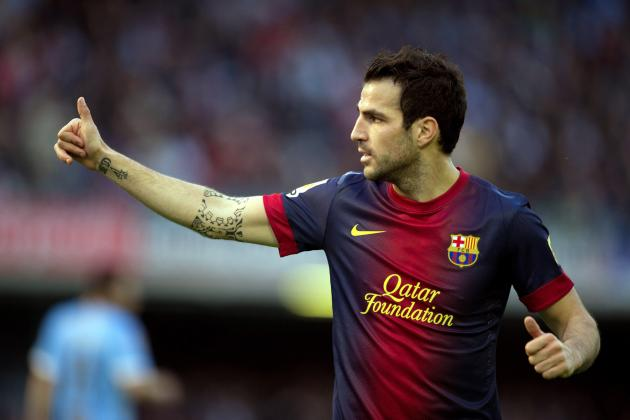 Barcelona Transfer News: Barca's Desire to Keep Cesc Fabregas Must Remain Firm
