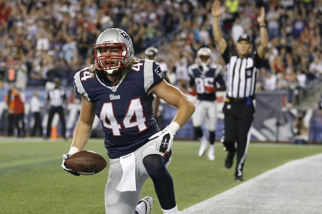 Zach Sudfeld Fantasy Football Value: Complete Projections for Patriots TE