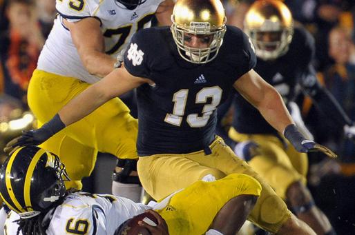 Medical Issue Ends Notre Dame's Spond''s Career