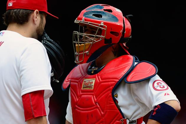 Yadier Molina and David Freese Return to Lineup Today vs. Cubs