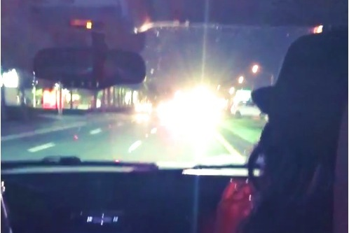 LeBron James Gets a Police Escort to a Concert on the Wrong Side of the Road