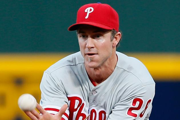 Chase Utley out of Lineup Tonight vs. Dodgers; Kevin Fransen at 2B