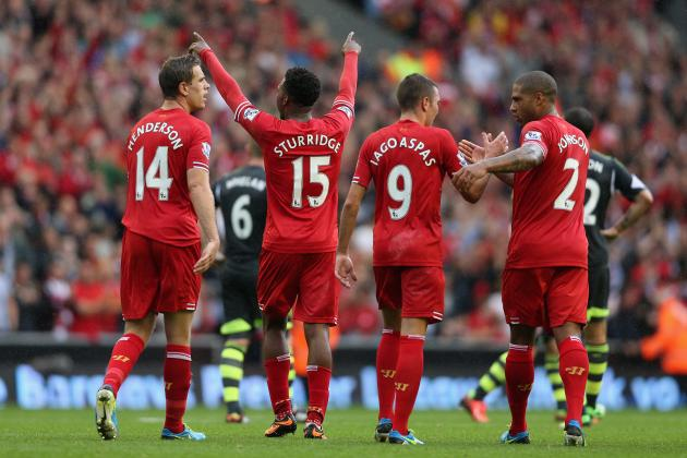 Rating the Liverpool Players Against Stoke