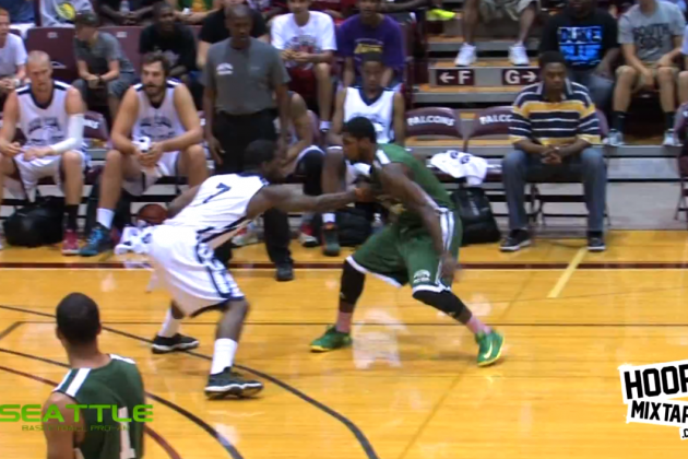 Kyrie Irving Pulls off an Insane Crossover at Jamal Crawford's Seattle Pro-Am