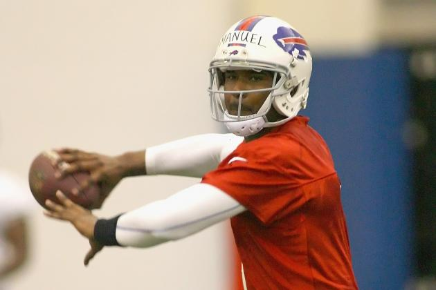 EJ Manuel out the Remainder of the Preseason