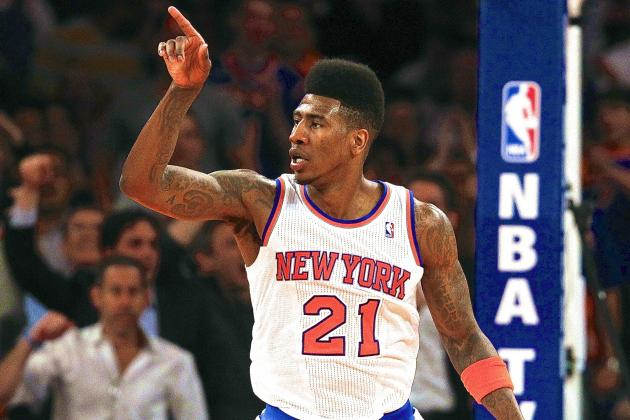 What Iman Shumpert Must Do to Earn Starting Role with NY Knicks in 2013-14