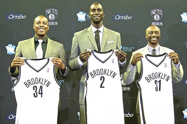 Will Kevin Garnett or Paul Pierce Have Bigger Impact for Brooklyn Nets?
