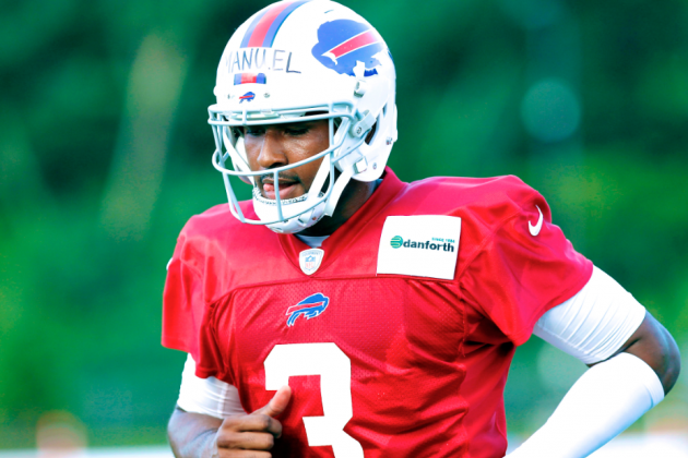 EJ Manuel Injury: Updates on Bills QB's Knee