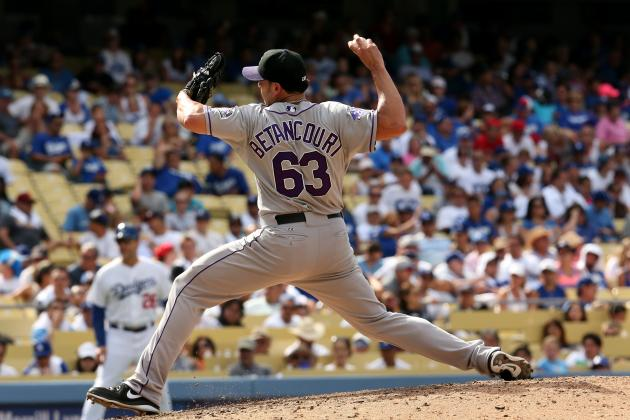 Rockies Activate RHP Betancourt from DL