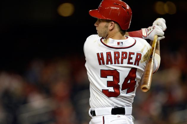Harper Scratched from Lineup vs. Braves