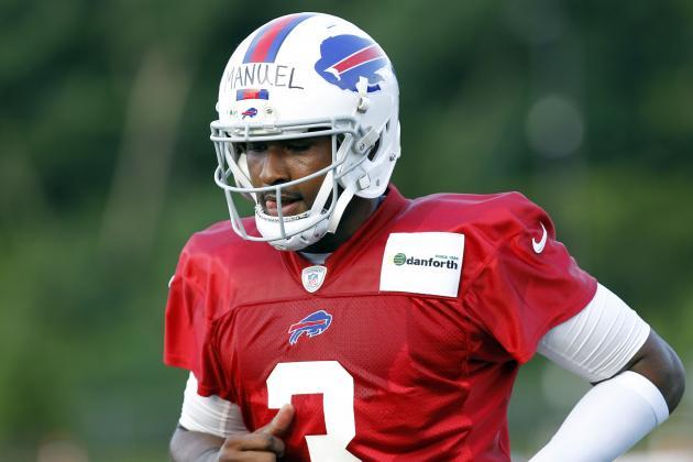 Why Bills' QB E.J. Manuel Will Not Mirror the 2012 Season's Rookie QB Success