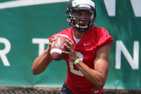 Damion Terry Shines in MSU Scrimmage as QB Situation Muddles