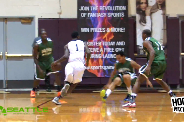 Memphis G Tony Wroten Crosses Up His Defender Then Dunks on Him the Next Play