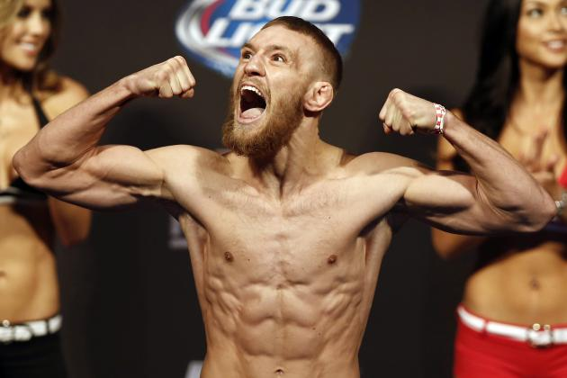 UFC Fight Night 26 Results: Conor McGregor Overcomes Knee Injury, Bests Holloway