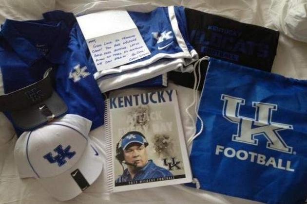 Kentucky Sends Care Packages to Former Wildcats in NFL