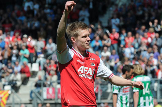 Johannsson Extends Scoring Streak in Alkmaar Victory