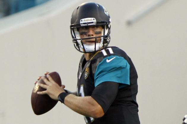 Blaine Gabbert Suffers Sprained Right Thumb vs. Jets