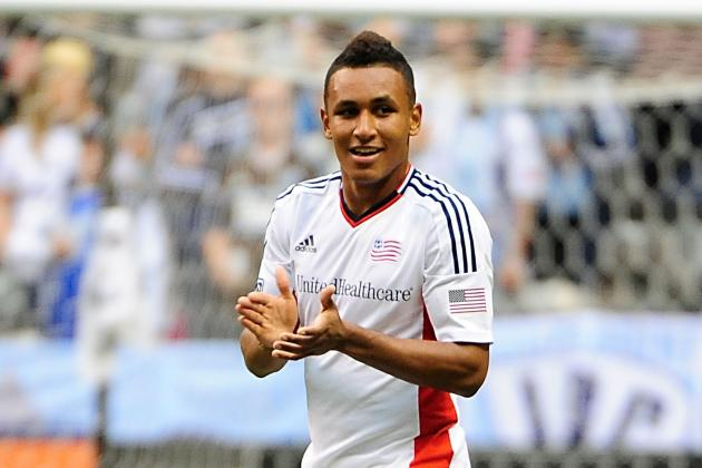 GOAL: Juan Agudelo Flicks Backheel over 'Keeper