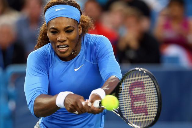 Serena Edges Past Erratic Li to Reach the Final in Cincinnati