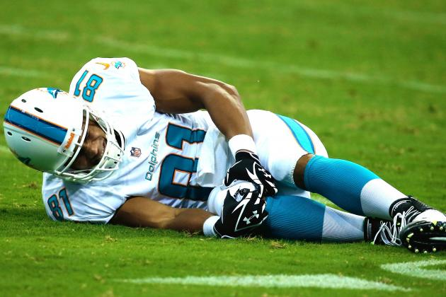 Dustin Keller Injury: Updates on Miami Dolphins TE's Knee
