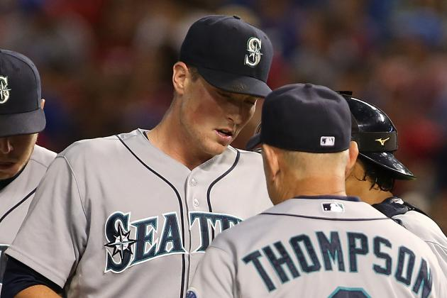 Mariners Give the Rangers Too Many Extra Outs in a Pair of Big Innings