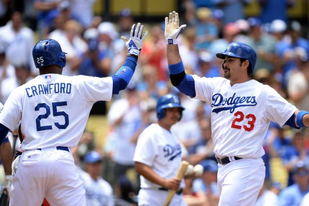 Carl Crawford and Adrian Gonzalez Sitting Today vs. Phillies