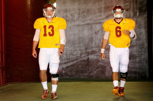 Cody Kessler, Max Wittek Still Competing to Start for USC