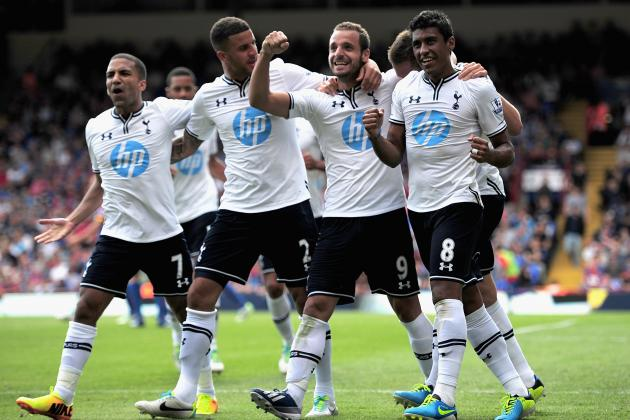 Rating the Tottenham Hotspur Players in Week 1 Victory Against Crystal Palace