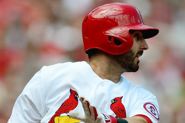 Descalso Returns to Lineup Today vs. Cubs; Matt Carpenter at 3B