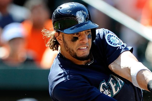 Michael Morse and Raul Ibanez out of Lineup Today vs. Rangers