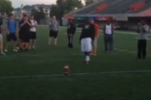 Video: Northern Illinois Players Go Crazy After Field Goal Challenge