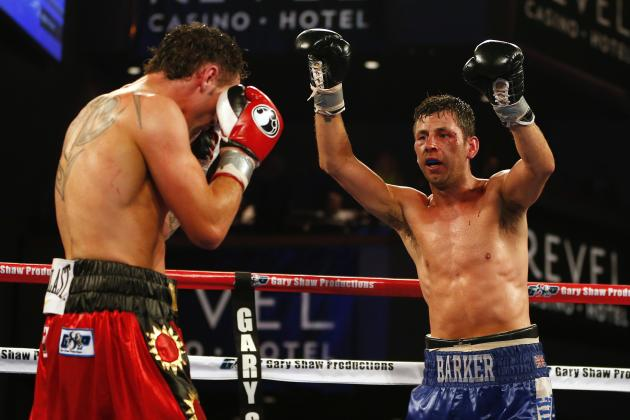 Darren Barker Upsets Daniel Geale to Claim Middleweight Title in a Slugfest