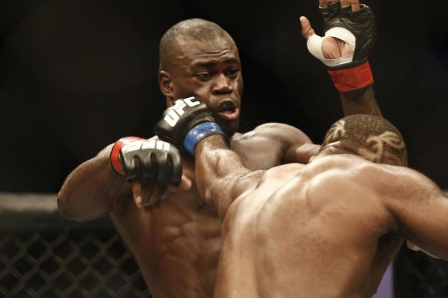 UFC Fight Night 26: Uriah Hall Is Officially a Bust