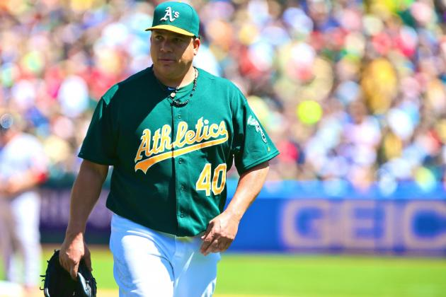 Bartolo Colon Injury: Updates on Oakland A's Star's Groin Strain