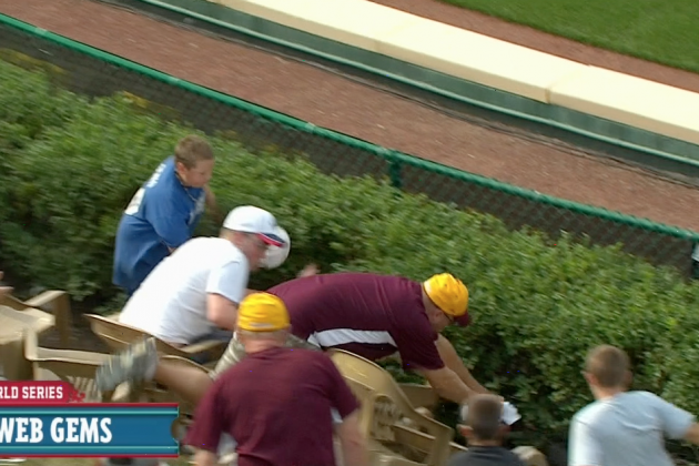 Grown Man Jumps in Bushes for HR Ball at Little League World Series