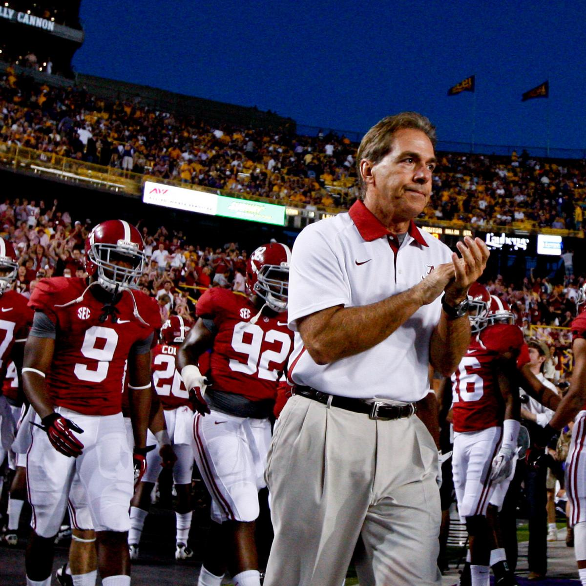 Alabama Football: Game-by-Game Schedule Predictions For