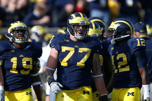 Michigan Football: Analyzing the Depth of the Wolverines' 2013 Offensive Line