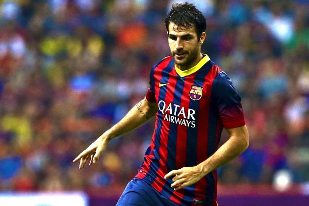 Cesc Fabregas Shows His Importance as Barcelona Stroll to Opening Win