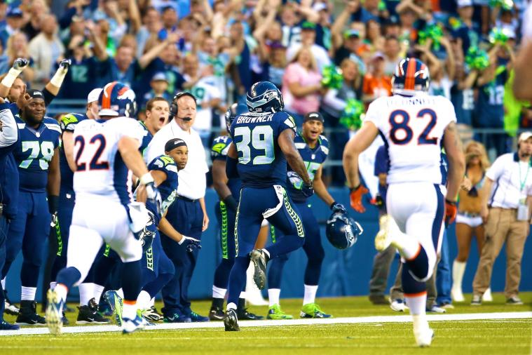 Seattle Seahawks Cornerback Brandon Browner's 106-Yard Fumble Return TD