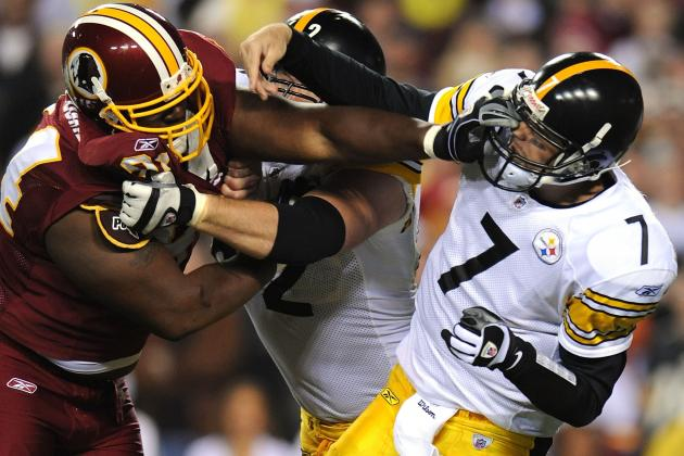 Steelers vs. Redskins: TV Info, Spread, Injury Updates, Game Time and More