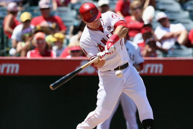 Trout Leaves Game with Hamstring Tightness