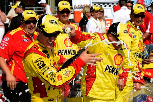 Pure Michigan 400 2013: What Crucial Win Means for Joey Logano's Chase Hopes