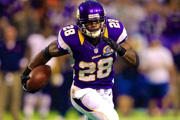 Adrian Peterson to Make Preseason Debut vs. San Francisco 49ers